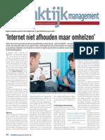 'Internet niet afhouden maar omhelzen'