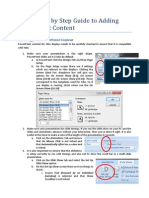 Xibo Step by Step Guide to Adding PowerPoint