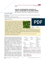 Magnolia Extract, Magnolol, And Metabolites Activation of Cannabinoid CB2 Receptors and Blockade of the Related GPR55