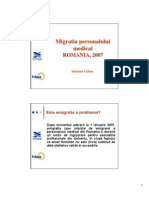 Migratia Personalului Medical AG 10031413