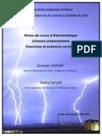 Notes de Cours Electrostatique Mai