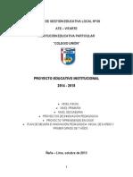 Pei Colegio Union 2014 a 2018 Web