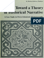Toward a Theory of Historical Narrative