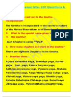 Bhagavad Gita Quiz