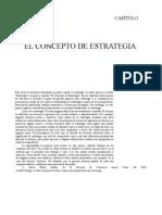 1 - Capitulo 1 El Concepto de Estrategia - El Proceso Estratégico. Contextos, procesos y caso - Mintzberg, H. y Quinn, J.doc