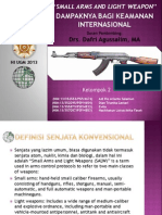 Tugas Kelompok - Penyebaran Senjata Konvensional SALW
