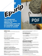Two Component Solvent Free Epoxy Adhesive for Construction Joints And