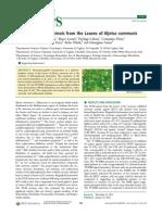 Journal of Natural Products Volume 75 Issue 2 2012 [Doi 10.1021%2Fnp2009219] Cottiglia_ Filippo_ Casu_ Laura_ Leonti_ Marco_ Caboni_ Pierluig -- Cytotoxic Phloroglucinols From the Leaves of Myrtus Communis
