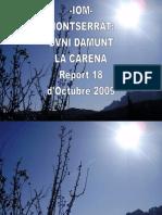 -Iom- Montserrat-ovni Damunt La Carena- Report 18 d'Octubre 2009