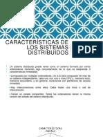 Características de los sistemas distribuidos