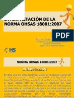 InterpretacionNormaOHSAS18001-2007