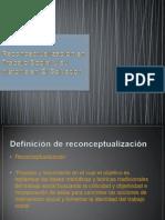 Reconceptualización de el Trabajo Social en El Salvador