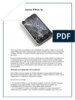 Manual Para Reparar iPhone 3g Ok