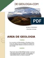 Actividades Que Se Desarrollan en El Area de Geologia