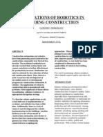 Application of RobotAPPLICATION OF ROBOTICS111.docAPPLICATION OF ROBOTICS111.docics111