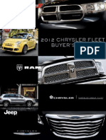 12MY Chrysler Fleet Buyer's Guide