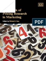 Pricing Research in Marketing