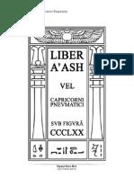 V v v v v Liber Aash Vel Capricorni Pneumatici Versao 1.0