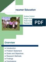 Fina Consumer Education