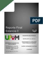 Reporte Final EstanciaII