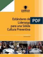 Estándares de Liderazgo para una Sólida Cultura Preventiva