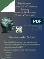 Asistensi 3 - Perencanaan Peta Pendaftaran