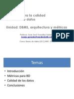 BBDD Clase 9 - Metricas de BBDD