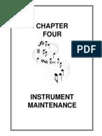 Mantenimiento de Instrumentos