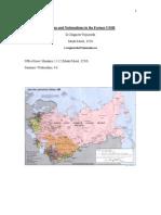 Post Soviet Nationalism