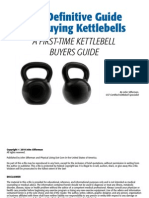 Definitive Guide for Buying Kettlebells