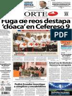 Periódico Norte de Ciudad Juárez edición impresa del 22 marzo del 2014
