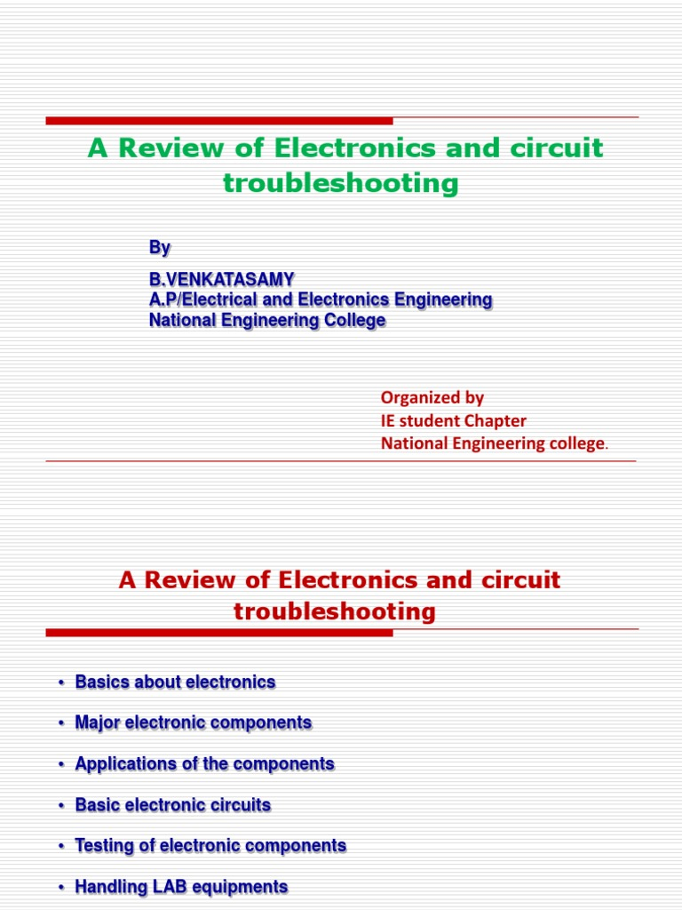 Fundamentals Of Electronics Operational Amplifier Rectifier The Basics Very Basic Circuits
