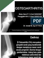 19010077 Osteoarthritis Ppt(1)
