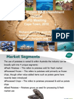 Presentation - Australian Potato Industry Overview - Cape Town 2010