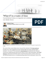 'What if' is a Waste of Time | Books | the Guardian