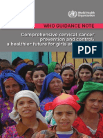WHO Comprehensive Cervical Cancer Prevention and Control - A Healthier Future for Girls and Women