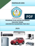Pengenalan Java
