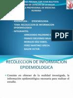 Fuentes de Informacion Epidemiologicas