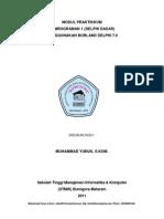 Modul Pemrograman Delphi