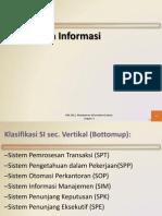 Tipe Sistem Informasi