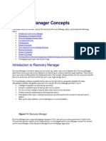 RMAN - Recovery Manager Concepts