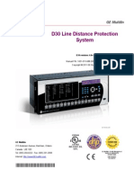 GE-D30 Dist Protection Rly