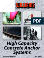 High Capacity Concrete Anchors