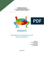 El desafío de las Competencias en la Educación Superior.pdf