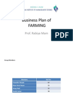 Business Plan of Poultry