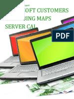 Microsoft Customers using Bing Maps Server CAL - Sales Intelligence™ Report