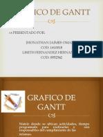 Grafico de Gantt