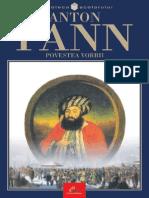 Pann Anton - Povestea Vorbii (Tabel Crono)