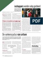Belgische wetenschappers volop geciteerd
