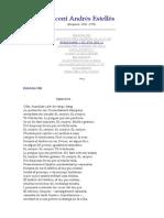 Vicent Andres Estelles - Selecció de poesies